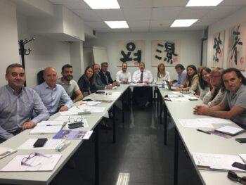 El Comité de PRL de ADEMI se reúne para planificar los próximos eventos para fomentar las buenas prácticas preventivas