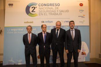 II Congreso Nacional de Seguridad y Salud en el Trabajo organizado por ADEMI, SEDIGAS y UNESA