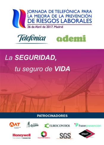 II Jornada Telefónica-ADEMI para la mejora de la prevención de riesgos laborales
