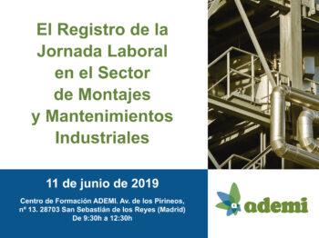 Aula: Registro de la Jornada Laboral en el Sector de Montajes y Mantenimientos Industriales