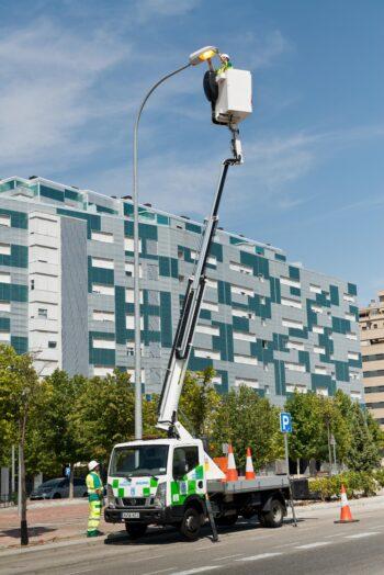 FCC Industrial ha obtenido el contrato de alumbrado público del Ayuntamiento de Gelves (Sevilla)