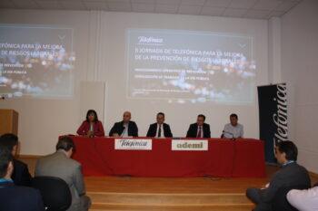 """La Seguridad, tu seguro de vida"", lema de la II Jornada TELEFÓNICA-ADEMI para la mejora de la PRL"