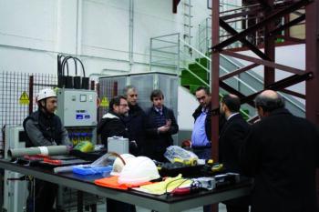 El secretario de Estado de Empleo visitó el Centro de Formación ADEMI el pasado 9 de febrero